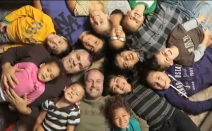 2 Gay Dads + 12 Children = One Happy Family