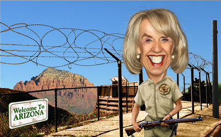 Jan Brewer Flexes Racist Muscle Again