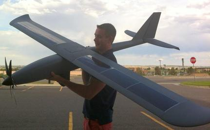 Solar-Powered Drone Is Big Brother With Wings