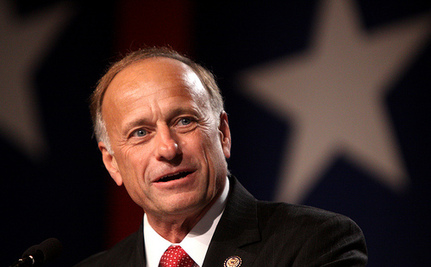 "Steve King Has ""Never Heard"" Of Pregnancy From Statutory Rape"