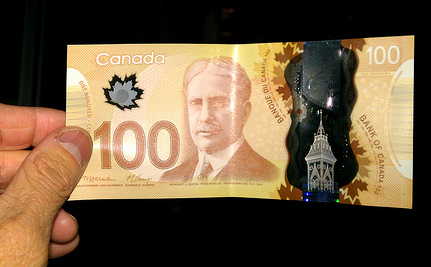 'Asian-Looking' Woman Causes Re-draft of Canada's New $100 Bill