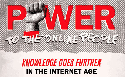 Power to the Online People (Infographic)