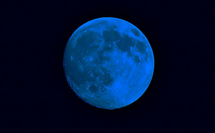 The Blue Moon And Neil Armstrong: A Cosmic Wink?