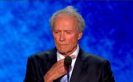 Clint Eastwood Yells At Chair (Video)