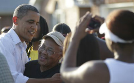 That Trickle Ain't Economics – Black Voters Stick with the Prez