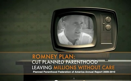 Planned Parenthood Goes After Romney In Big Ad Buy