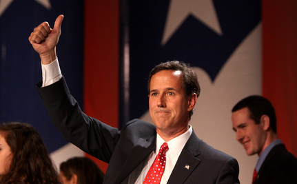 Santorum: 'We Will Never Have…Smart People On Our Side'
