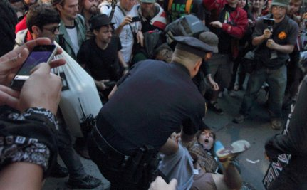 Occupy Wall Street Celebrates 1st Anniversary with 181 Arrests