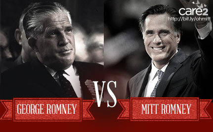 Would George Romney Vote for Mitt?