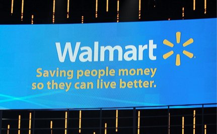 The Anti-Walmart Motto