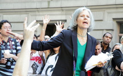 Green Party Candidate Jill Stein Arrested At Presidential Debate