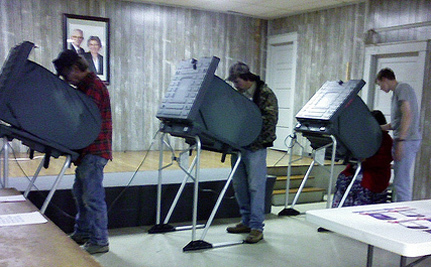 Company Linked To Romney Owns Voting Machines In Ohio And Colorado