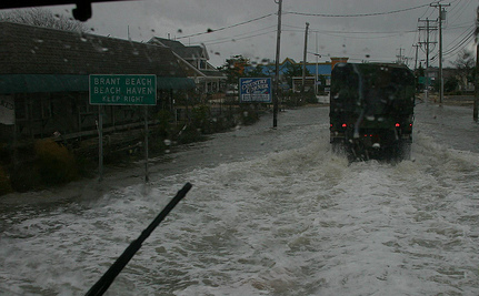 Obama Visits a Storm-Ravaged New Jersey