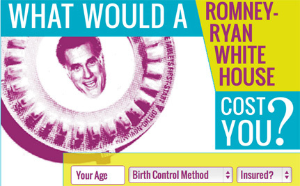 What Would a Romney-Ryan White House Cost Your Lady Parts?