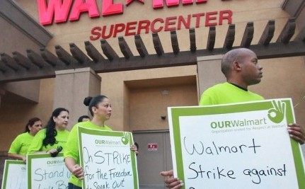 Walmart Workers Plan Massive Black Friday Strike
