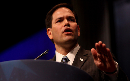 """Marco Rubio Thinks Evolution is a """"Mystery"""""""