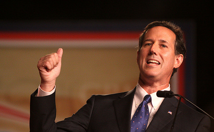 Rick Santorum Takes On The Disabled