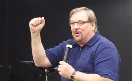 Rick Warren: Being Gay Is Like 'Punching A Guy In The Nose' Or Consuming Arsenic