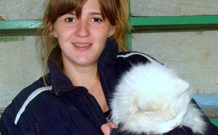 Deaf Cat Living in Ukrainian Treetop Makes a Soft Landing