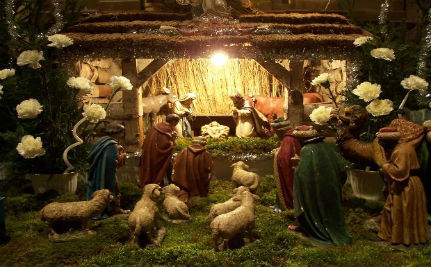 A Joseph and Joseph Nativity Scene That Makes a Point