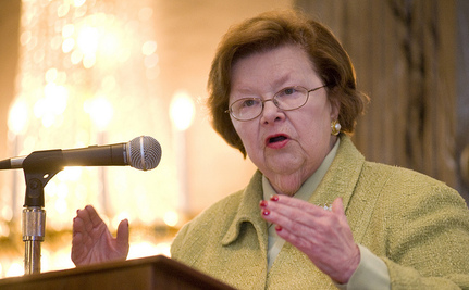 Here's Why Barbara Mikulski is Making History