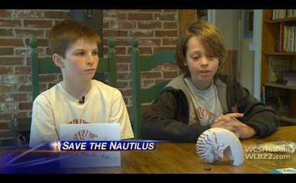 Tween Boys Help Save a 500-million-year-old Species
