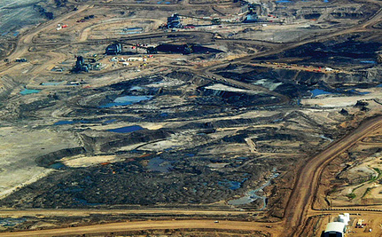 The Foul Legacy of the Tar Sands: Lakes Turned Into Cancer Sites