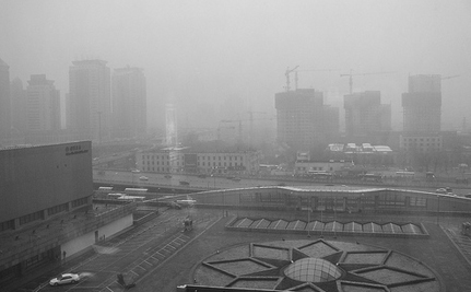 China's Smog So Bad, a Huge Fire Burns Unnoticed For 3 Hours