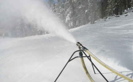 Surprise! Fake Snow Made From Sewage Comes Out Yellow