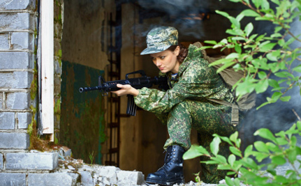 7 Countries Where Women Already Serve In Combat Units