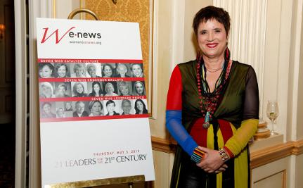 Eve Ensler Goes Ecofeminist