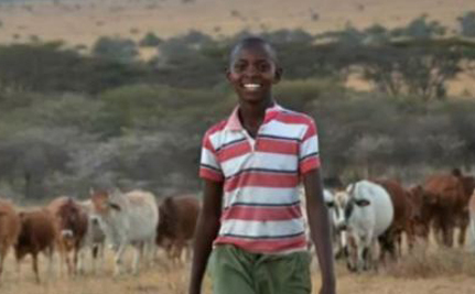 13-Year-Old Boy Saves Kenya's Lions And Cows