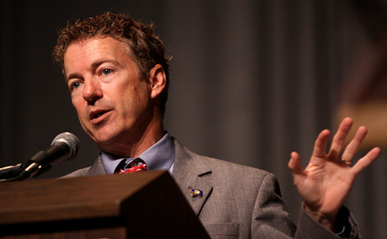 Civil Liberties 'Hero' Rand Paul Proposes Fetal Personhood. Again.