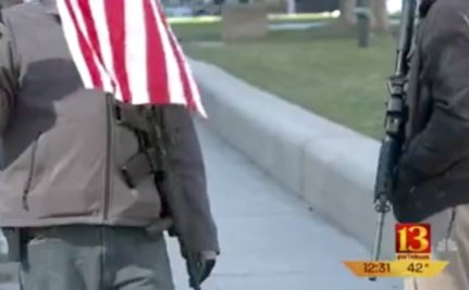 Men With Loaded Rifles Intimidate Moms Gathered At Gun Safety Rally