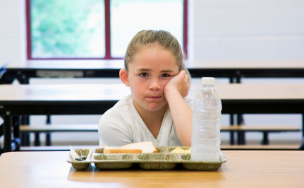 Students Forced To Dump Their Lunch By Cafeteria Staff