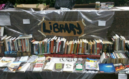 Destruction Of Occupy Library Earns NYC A Hefty Fine