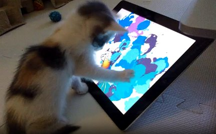 Daily Cute: Kittens These Days with Their Technology