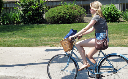 Biking Can Be Cool…Unless You're a Teenage Girl