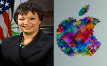 Can Former EPA Chief Lisa Jackson Shine Up Apple's Green Image?