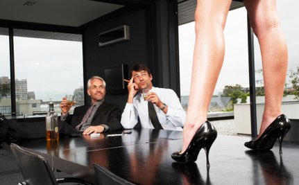 Male Bosses Make Female City Employees Strip for Jobs and Cash