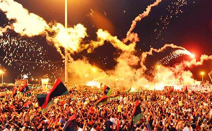 Arab Revolution Springs from Public Squares