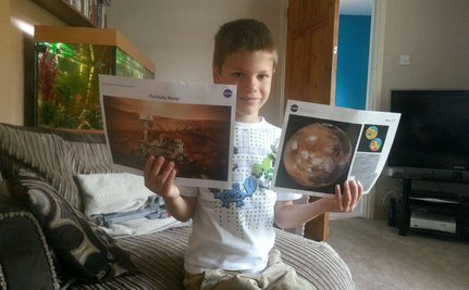 7 Year Old Sends Letter to NASA…and NASA Writes Back!
