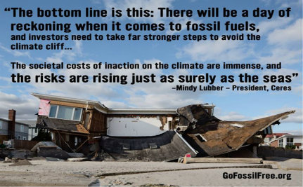 Global Movement Will Deprive Fossil Fuel Industry of Money it Craves