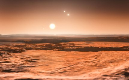 Discovery of Three New Super-Earths Reminds Us How Small We Are