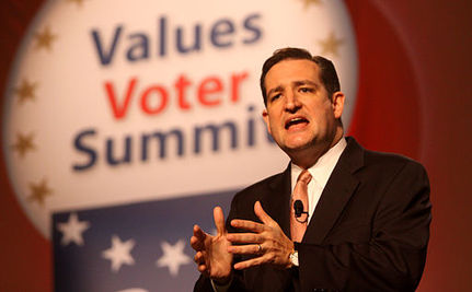 Ted Cruz Thinks Marriage Equality Will Turn Christianity into Hate Speech
