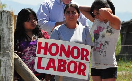 200 Farmworkers on Strike for Their Dignity in Washington