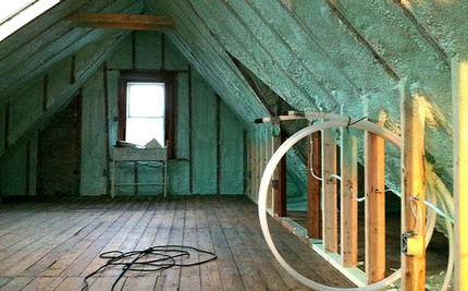 """""""Green"""" Spray Foam Insulation Could Be Filling Your Home With Toxic Chemicals"""