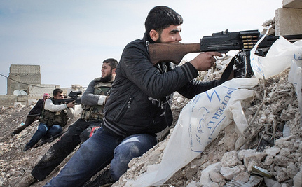 Syrian Refugee Camps Secretly Turn into Rebel Staging Grounds