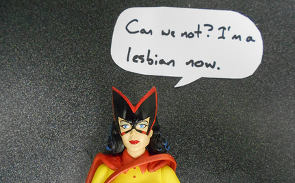 DC Comics Bans Gay Marriage for Batwoman