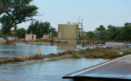 Flooded Fracking Wells Wreak Havoc in Colorado